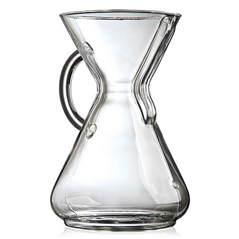 bed bath and beyond chemex chemex 174 glass handle coffee makercollection bed bath