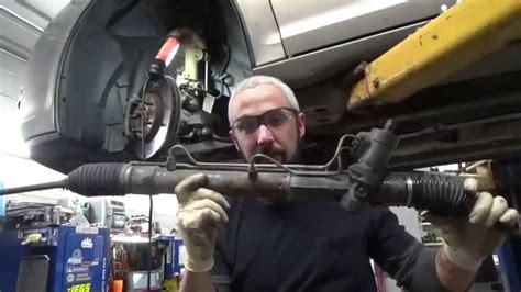 replace rack  pinion saturn aura youtube