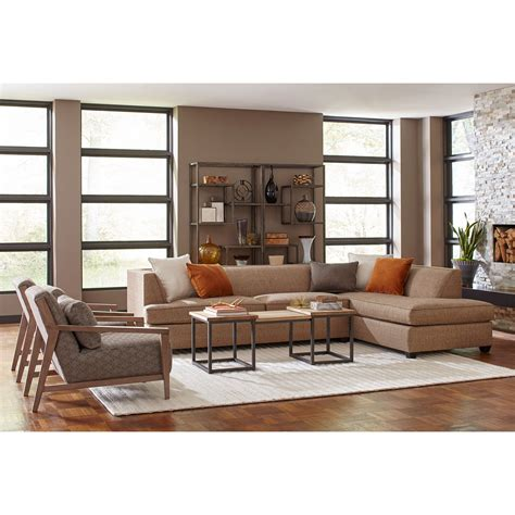 broyhill sofa with chaise broyhill furniture farida 2 sectional sofa with raf