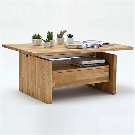 Beech Coffee Table With Drawers by Titus Coffee Table In Beech With Lift Function And 1
