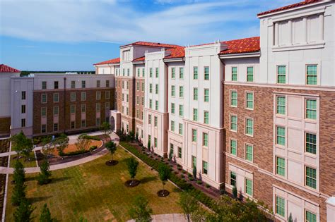ttu housing texas tech university university student housing talkington hall