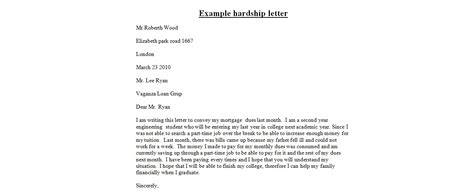 Hardship Letter Requesting Deed In Lieu Sle Loan Modification Hardship Letter Ideas Letter Loan Modification Hardship Letter