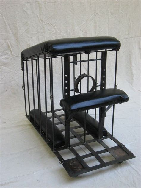 bench cage spanking bench rolling cage bdsm bonds of steel mature bondage
