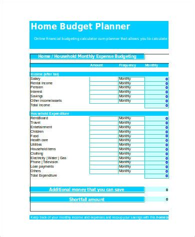 Budget Calculator Spreadsheet by 28 Budget Calculator Free Spreadsheet Sle Home Budget