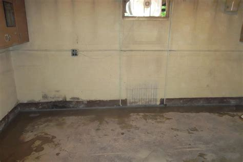 Basement Waterproofing Waterguard Installation