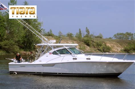 tiara charter boats manistee river lake michigan private fishing charters