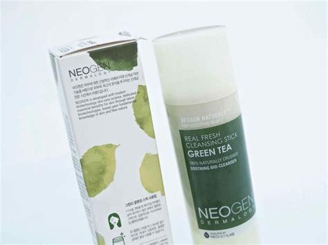 Neogen Real Fresh Green Tea Cleansing Stick 80gr neogen real fresh cleansing stick green tea puhdistuspuikko