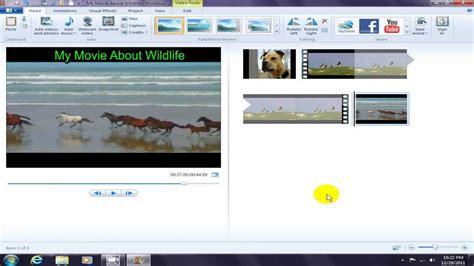 tutorial windows live movie maker 2012 windows live movie maker 2012 just starting youtube