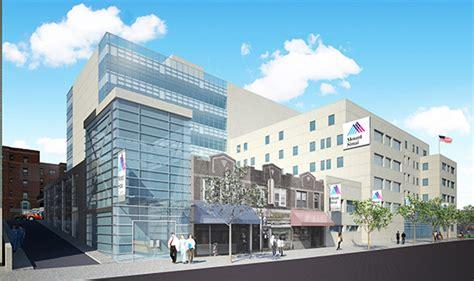 mount sinai astoria emergency room maimonides center nyc hospital construction