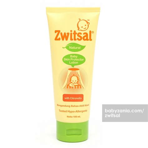 Zwitsal Baby Skin Protector Lotion With Citronella 50ml 50 Ml jual murah zwitsal baby skin protector lotion with