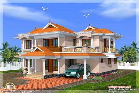 kerala model home in 2700 sq house design plans