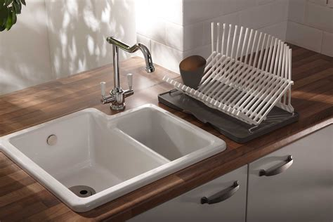 small ceramic kitchen sink sinks raddon court kitchens and bedrooms