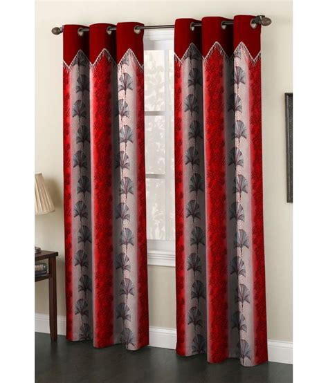 curtains india homefab india set of 2 window eyelet curtain buy homefab