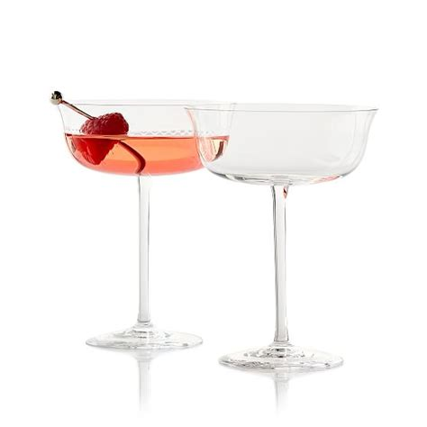 Stem Cocktail Glasses Set Of 2 Stemmed Cocktail Glasses And Graham