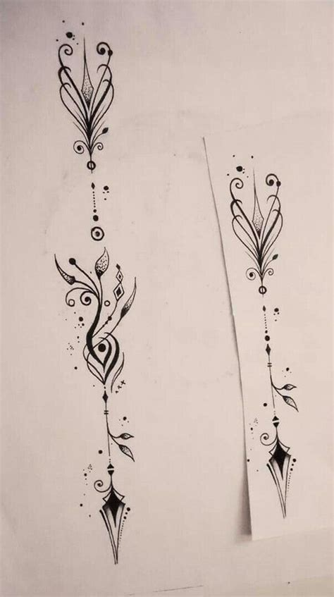 tattoo pinterest arrow resultado de imagen de unalome tatu pinterest small