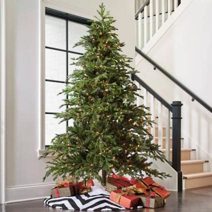 majestic noelpine artificial christmas tree majestic fraser fir artificial tree grandin road