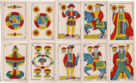 Gift Card In Spanish - anon spanish cards c 1875 the world of playing cards