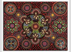 Papunya dot painting | Designs & Patterns - Aboriginal Art ... Famous Acrylic Painting
