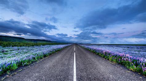 Landscape Road Pictures Iceland Road Landscape Hd Desktop Wallpapers 1080p
