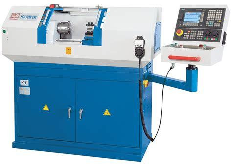 Cnc Box Way Lathes Pico Turn Gp Machine Tools By Knuth