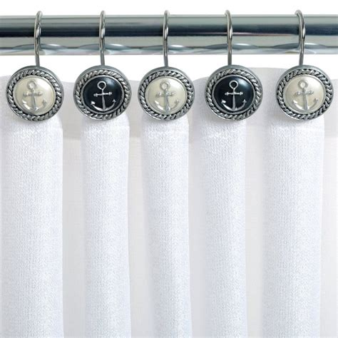 anchor curtain hooks anchor shower curtain hooks tedx decors the adorable