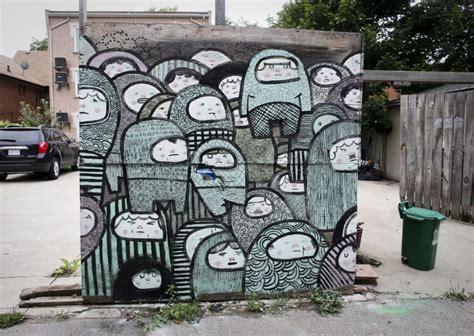 andrew dams garage doors graffiti toronto