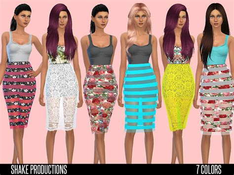 design clothes the sims 4 the sims resource shakeproductions 32 set sims 4 downloads