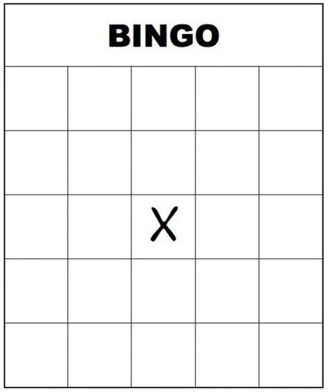 template to make a bingo card 25 unique printable bingo cards ideas on free
