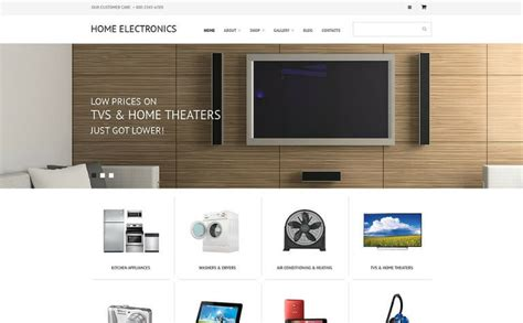 best home electronics 8 best electronics store woocommerce themes 2018
