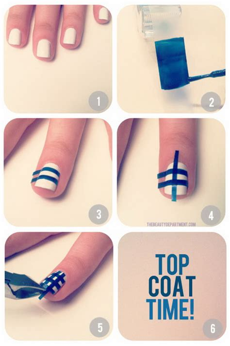 cool and easy step by step nail designs hative