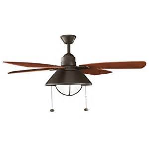 ceiling fans with up and lighting kichler lighting 310131oz seaside 54in indoor outdoor