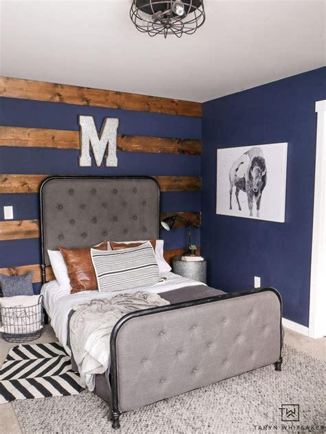 navy blue boys bedroom rustic boys bedrooms boys