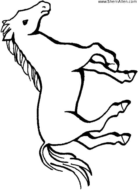 miniature horse coloring page how to draw miniature horses