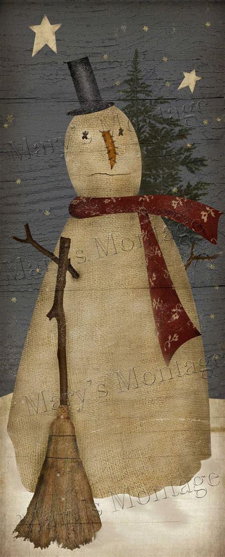 primitive christmas crafts to make de 16 b 228 sta santa paintings bilderna p 229