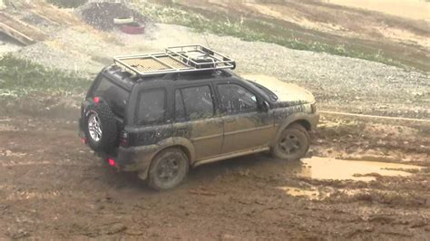 land rover freelander off road land rover freelander offroad 4x4 youtube