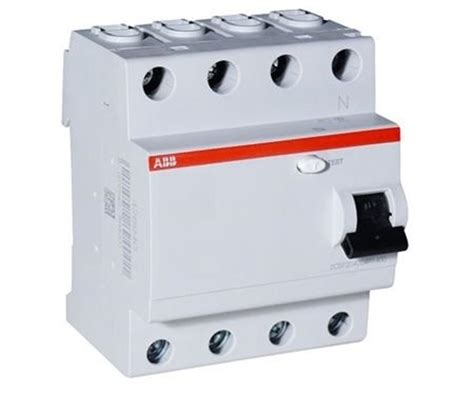 Siemens 5sv4346 0 63a 30ma Rccb buy abb 63a 100ma four pole rccb at best price in india