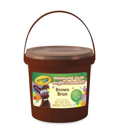 Modeling Clay 15 crayola modeling clay brown 15 ounce school specialty marketplace