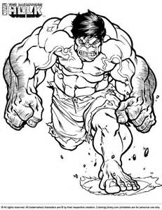 free coloring pages red hulk
