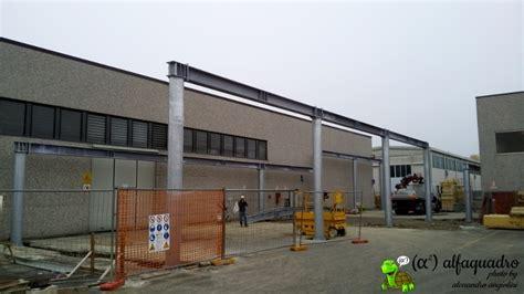 tettoia acciaio tettoia in acciaio costruita con copertura ad arco modena