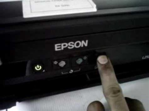 how can reset epson l210 printer printer epson l210 it is time to reset the ink levels