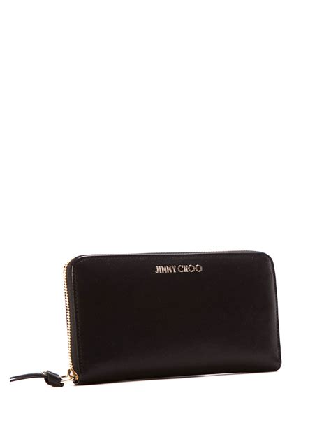 Jimmy Choo Unite Leather Wallet pippa leather wallet by jimmy choo wallets purses ikrix