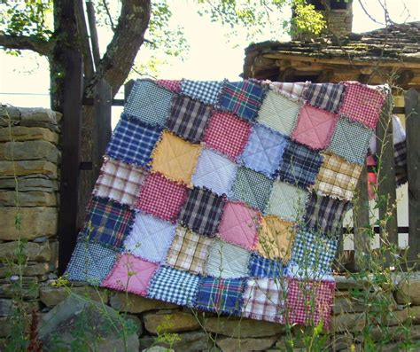 Rag Quilt Material by Recycled Rag Quilt By 3patch Quilting Pattern