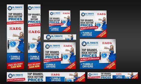 design google banner ads custom banner set for google adwords 15 sizes by