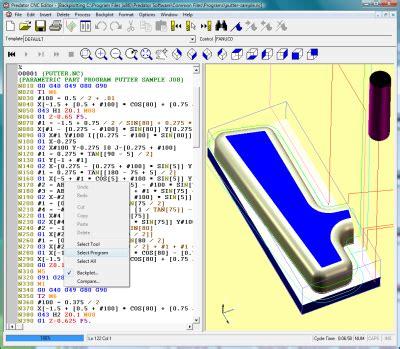 Drawing G Code Program by Predator Cnc Editor Software Overview Artcam