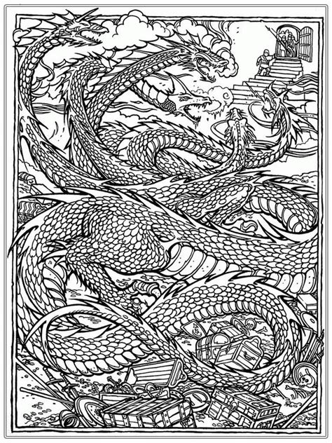 adult coloring page coloring home realistic dragon coloring pages for adults coloring home
