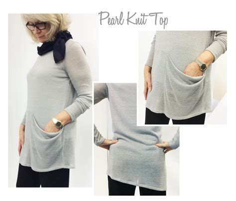 Pearl Knit Skirt cardigan top patterns gallery style arc
