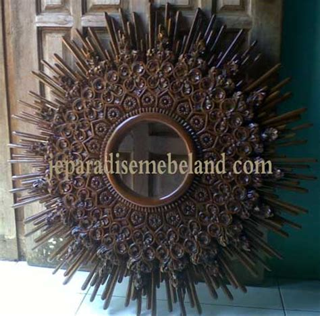Bangku Sofa Jati Paradise pigura frame kayu jati pesanan ibu indah depok jual