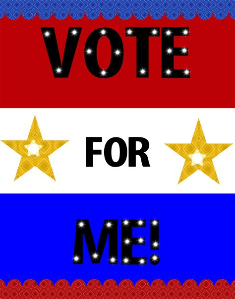vote for me posters templates 6 best images of me poster ideas beautiful losers movie