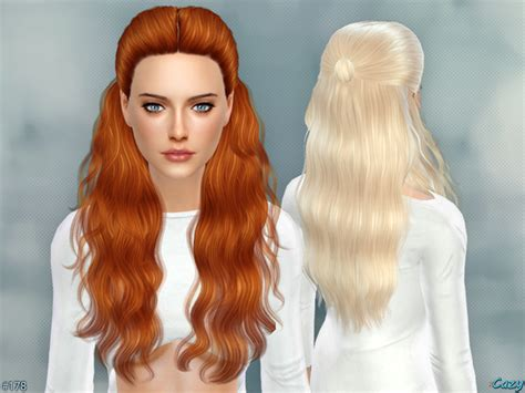 sims 4 hairstyles hannah female hair by cazy at tsr 187 sims 4 updates