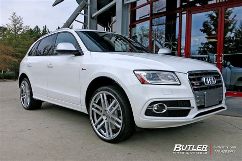 audi q7 with 22in tsw rouen wheels exclusively from butler